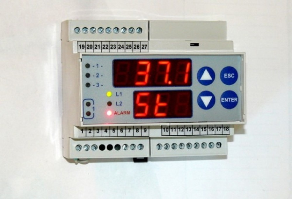Sterownik 1-sekcyjny do komory klujnikowej