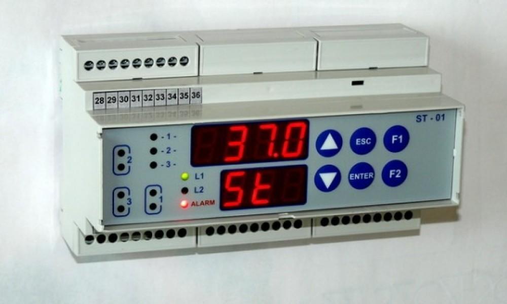 Sterownik 3-sekcyjny do komory lęgowej
