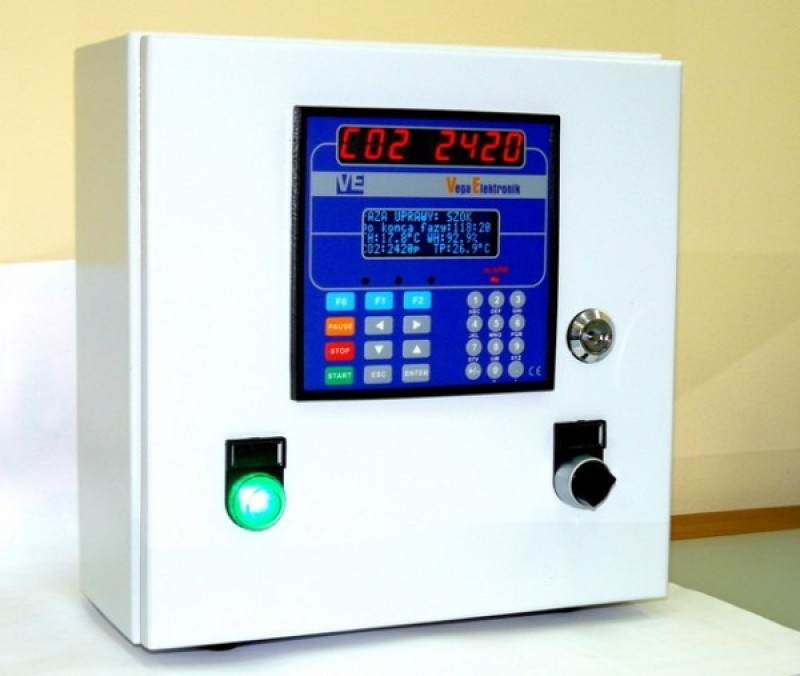 Sterownik klimatu pieczarkarni SP3